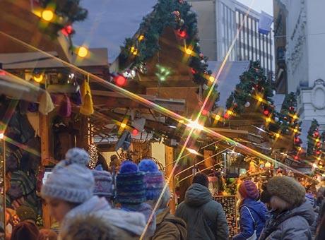 Budapestin joulumarkkinat