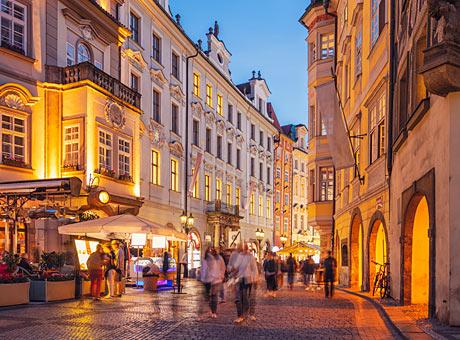 Prahan joulumarkkinat