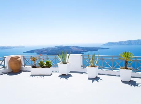 Santorini Kreikan saaret