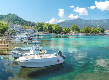 Thassos Kreikan saaret
