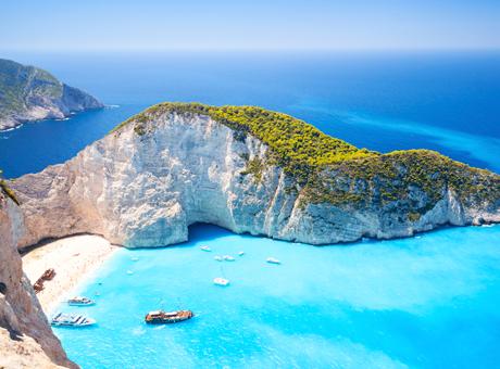 Zakynthos Kreikan saaret